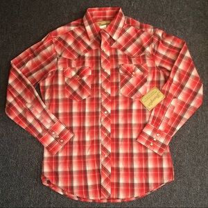 Wrangler Medium Western Fashion Snap Shirt